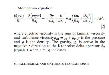 OpenFOAM中动量方程扩散项的问题